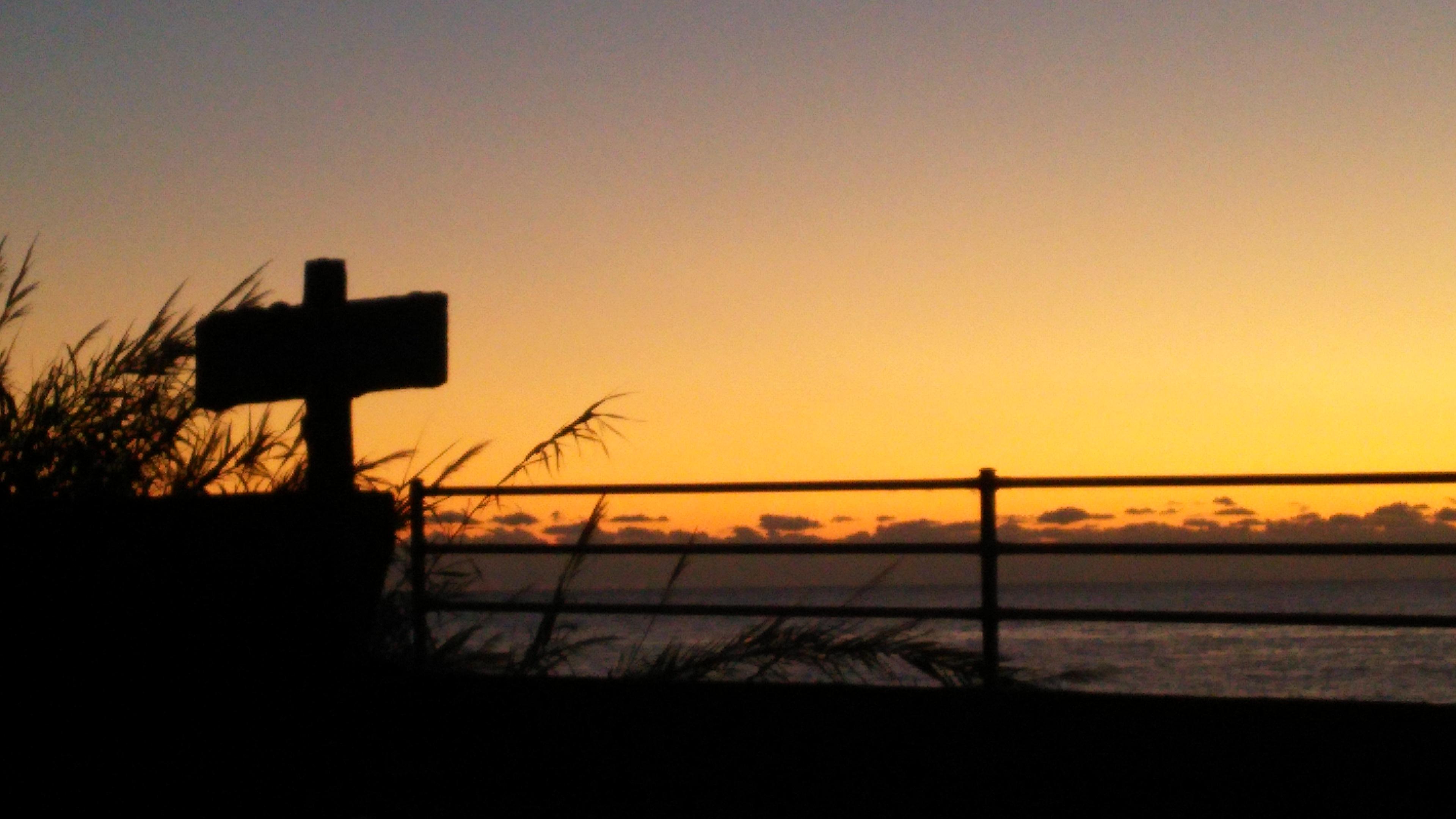 【車中泊】室戸岬  最後から2番目の朝日と霊山寺1