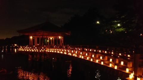 宇宙的などこか奈良の燈花会